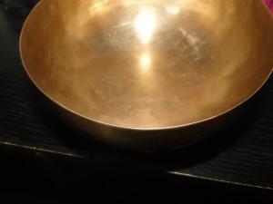 Silver Bowl at Sunset